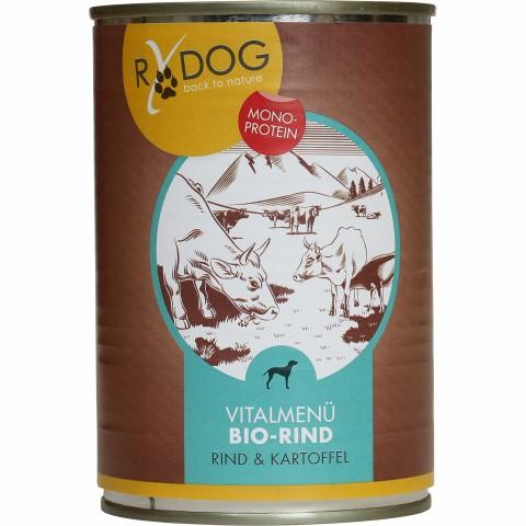 RyDog Vitalmenü Bio-Rind Hundefutter